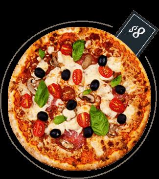 Pizza La Ruccoli